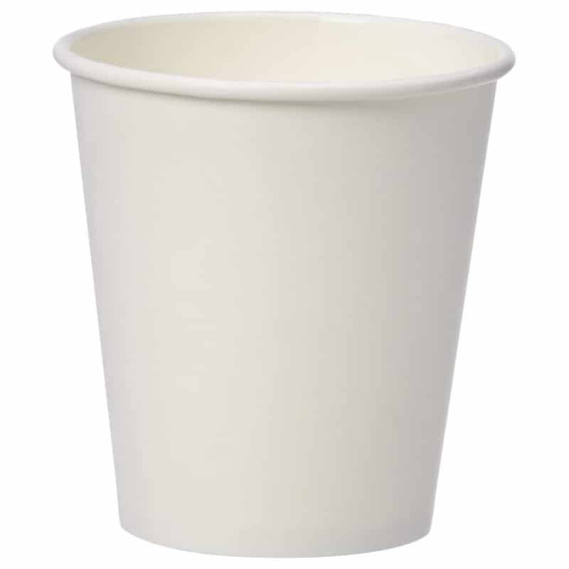 3. Amazon Basics Compostable Hot Paper Cup