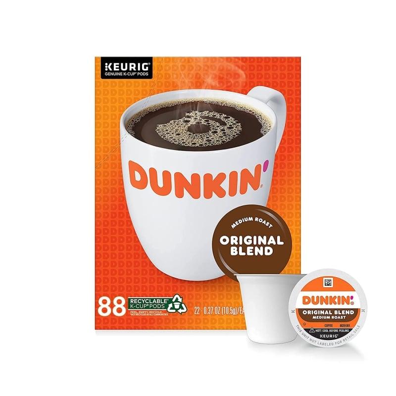 3. Dunkin' Donuts Original Blend Keurig K Cups