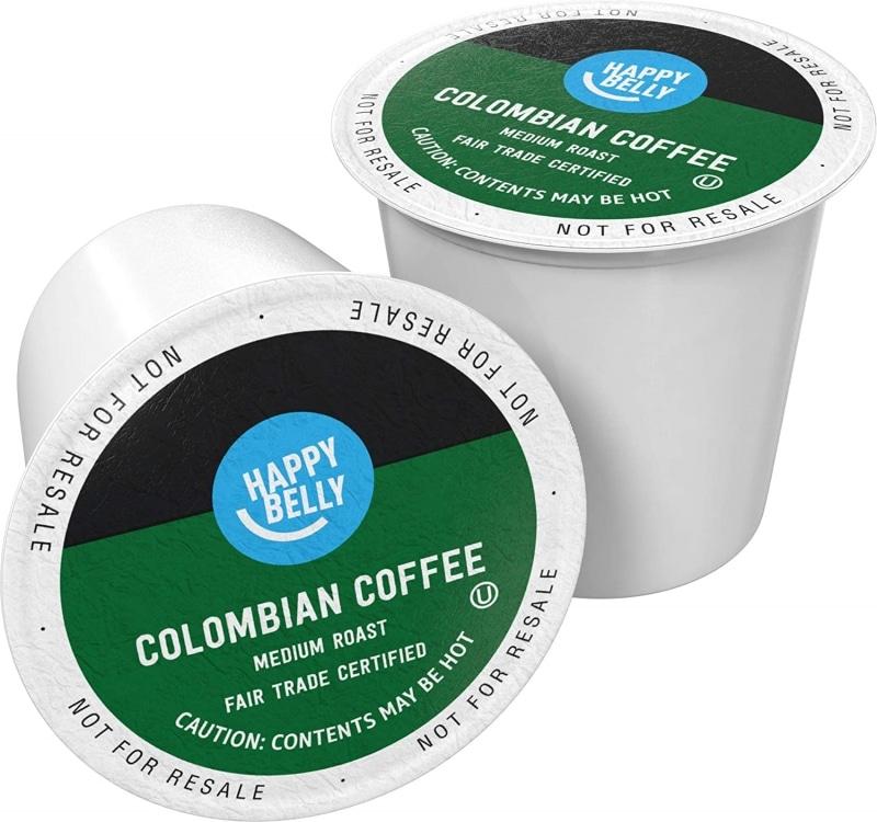 3. Happy Belly Medium Roast Coffee Pods
