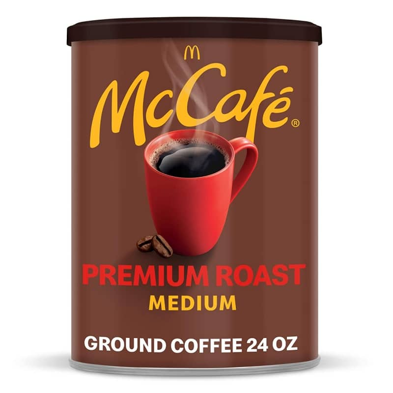 3. McCafé Premium Ground Coffee