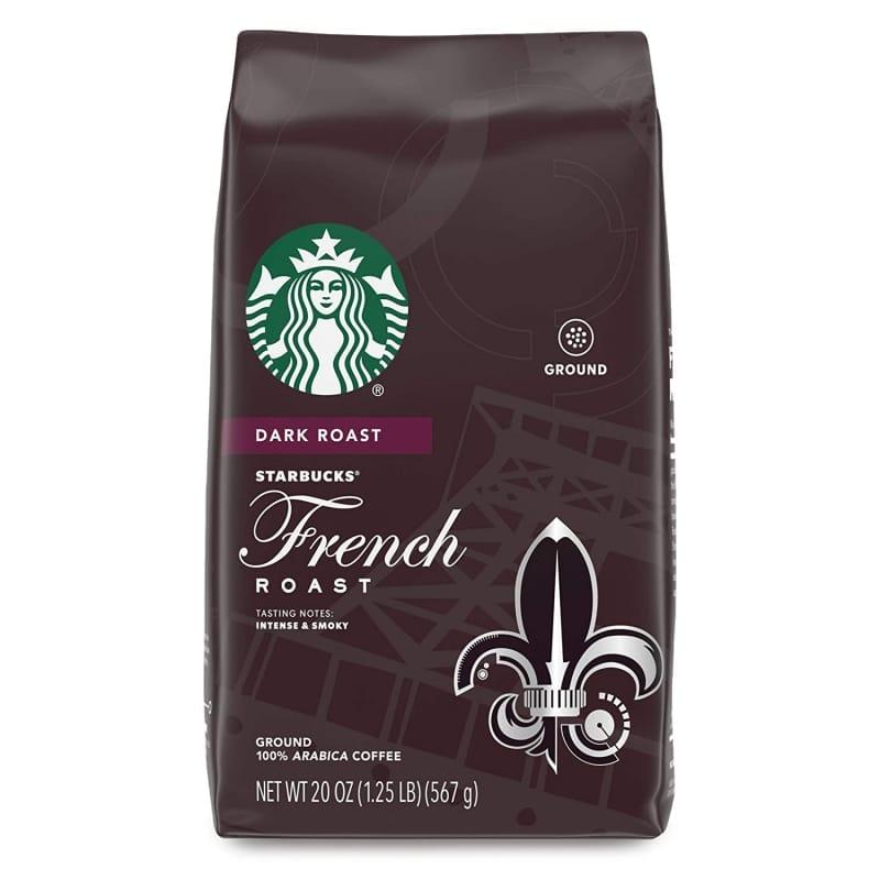 3. Starbucks Dark Roast Ground Coffee