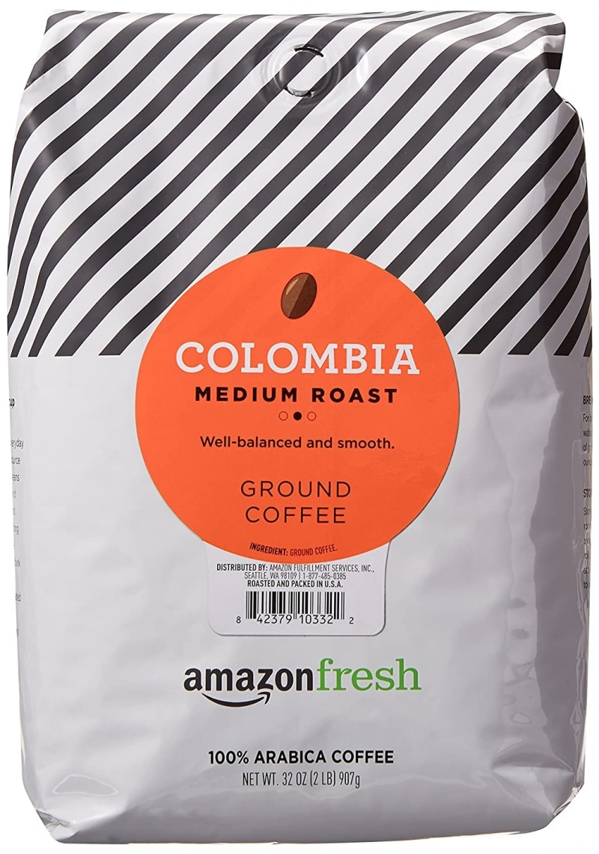 4. AmazonFresh Best Colombian Coffee