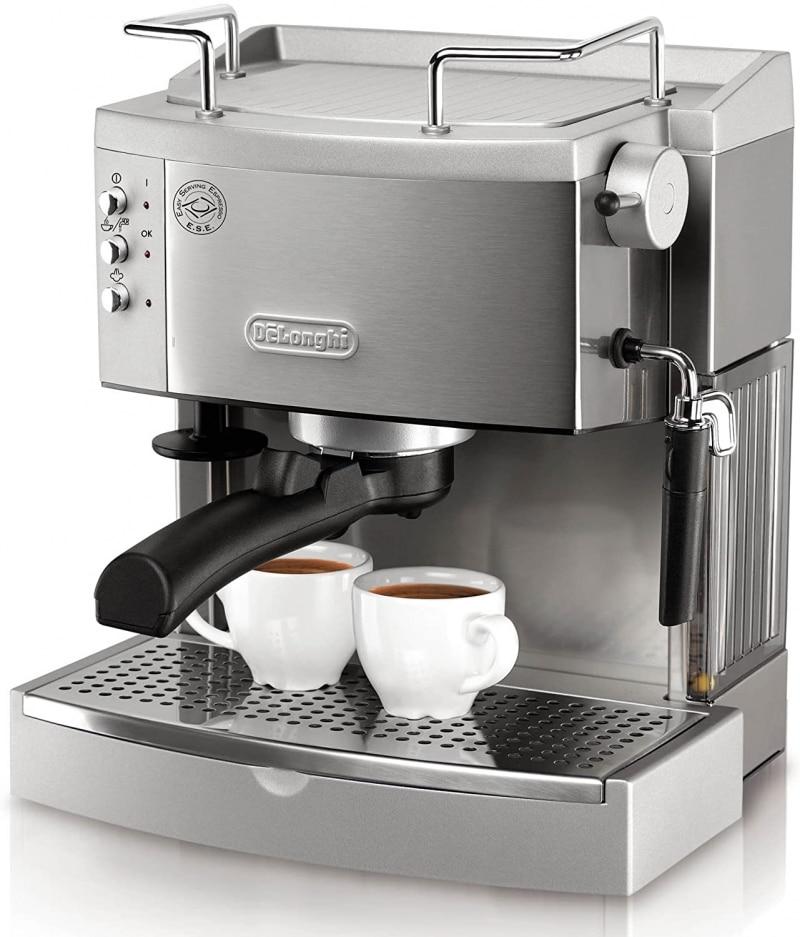 4. De'Longhi 15 bar Pump EC702 Espresso Maker