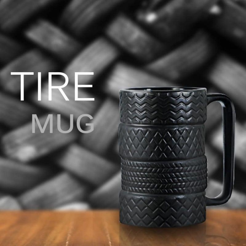 25. EPFamily 3D Cool Car Mug Tyre Tire