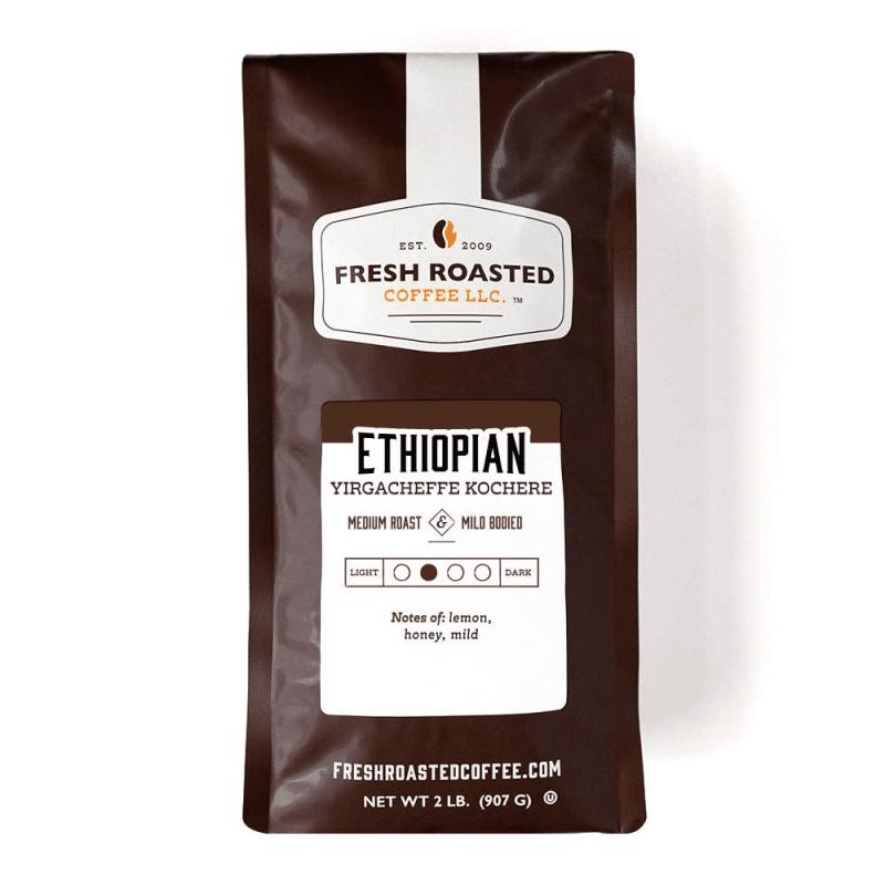 4. Fresh Roasted Coffee Ethiopian Yirgacheffe Kochere