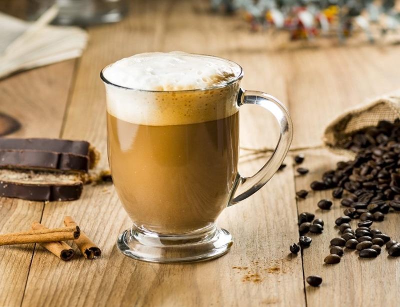4. Kook Glass Coffee Mugs
