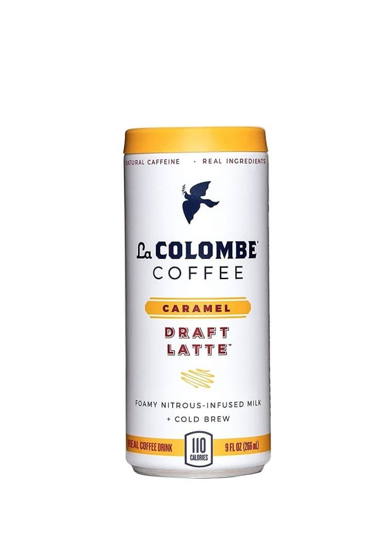 4. La Colombe Caramel Draft Latte
