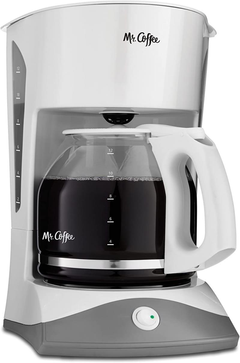 4. Mr. Coffee 12-Cup Manual Coffee Maker