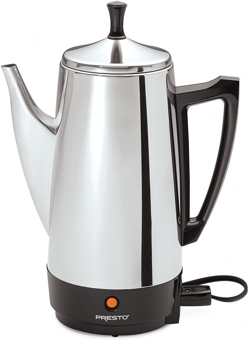 4. Presto 02811 12-Cup Stainless Steel Coffee Maker