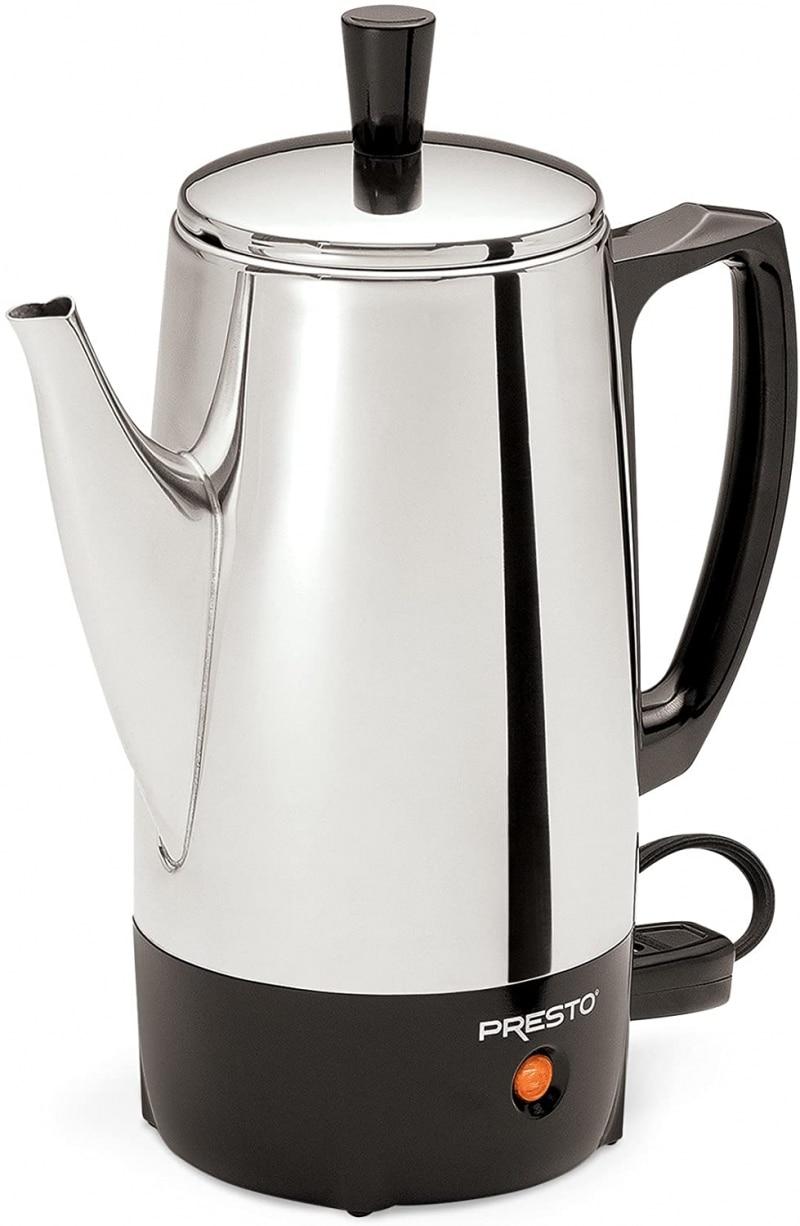 4. Presto 02822 Stainless Steel Coffee Percolator