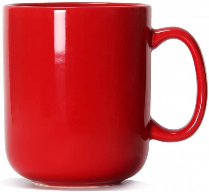 4. Red Oversized Coffee Mugs