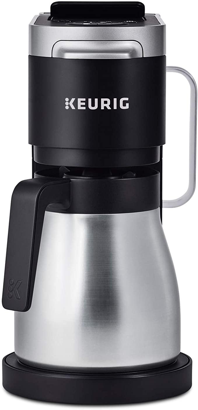 4. Keuring K-Duo Plus Coffee Making