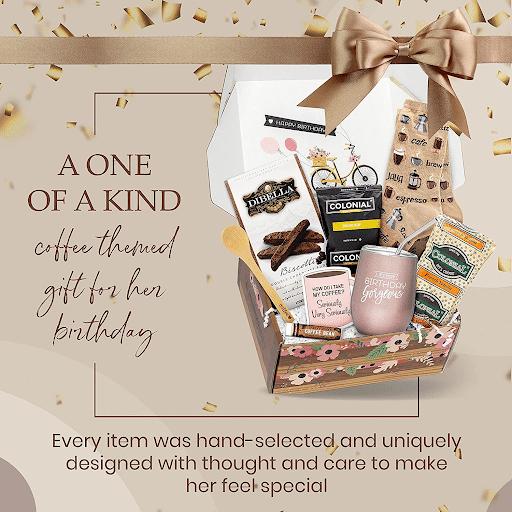 5. Birthday Box Coffee Gift Baskets