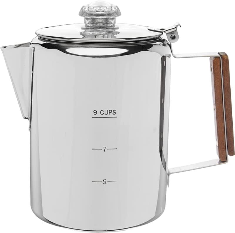 5. COLETTI Bozeman Camping Coffee Pot