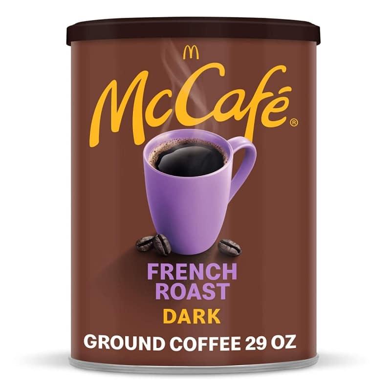 5. McCafe Dark Roast Ground Coffee