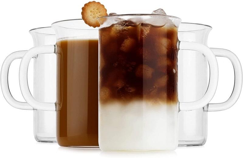 5. LUXU Glass Cups