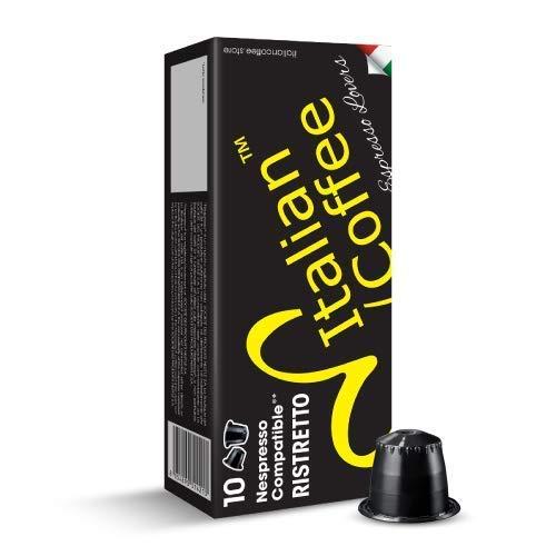 6. 100 Italian Coffee pods compatible with Nespresso machines