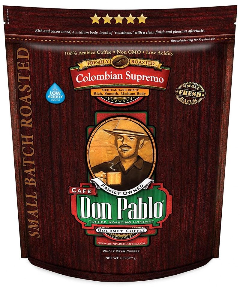 6. 2LB Don Pablo Colombian Supremo