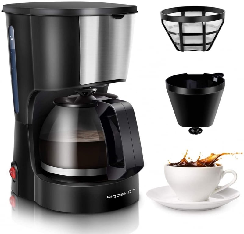 6. Aigostar Coffee Pot Machine