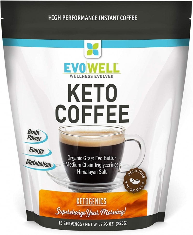 6. Keto Brown Coffee from EVOWELL
