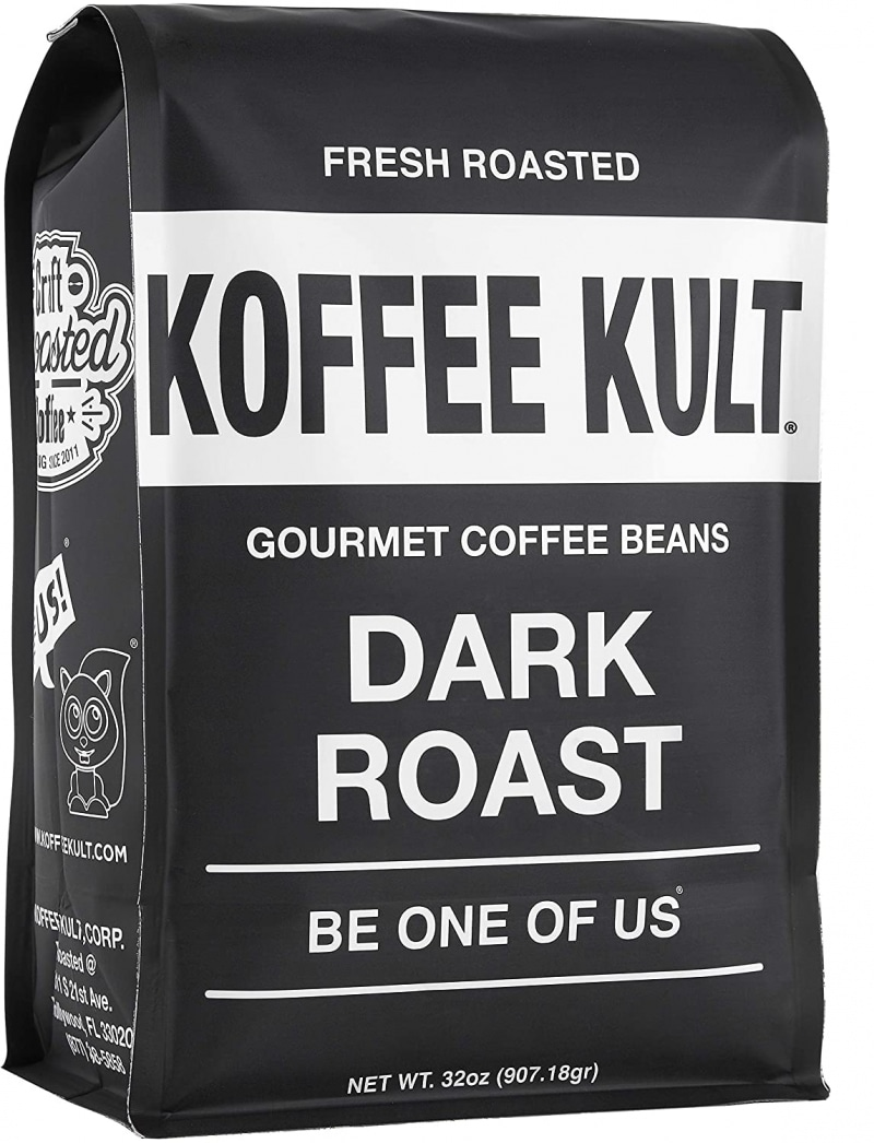 6.  Koffee Kult COffee Beans Dark Roasted