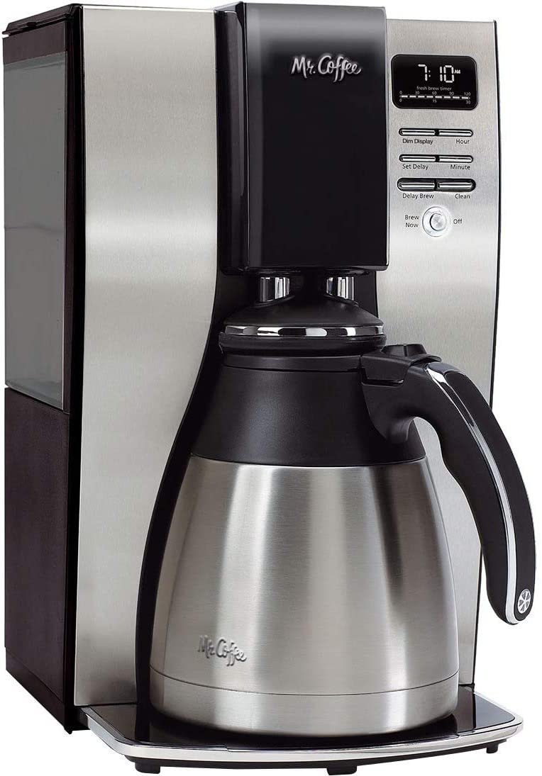 6. Mr. Coffee 10 Cup Coffee Maker
