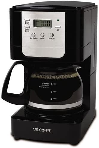 6. Mr. Coffee Advanced Brew 5 Cup Programmable Coffee Maker