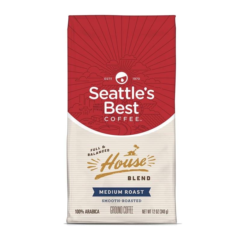 6. Seattle's Best Coffee House Blend Coffee