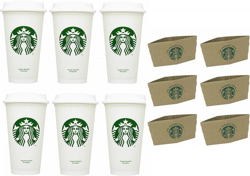 6. Starbucks Paper Coffee Cups