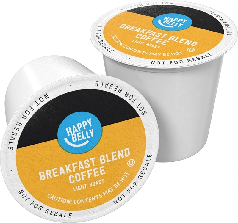 7. Amazon Brand Happy Belly Coffee Pods