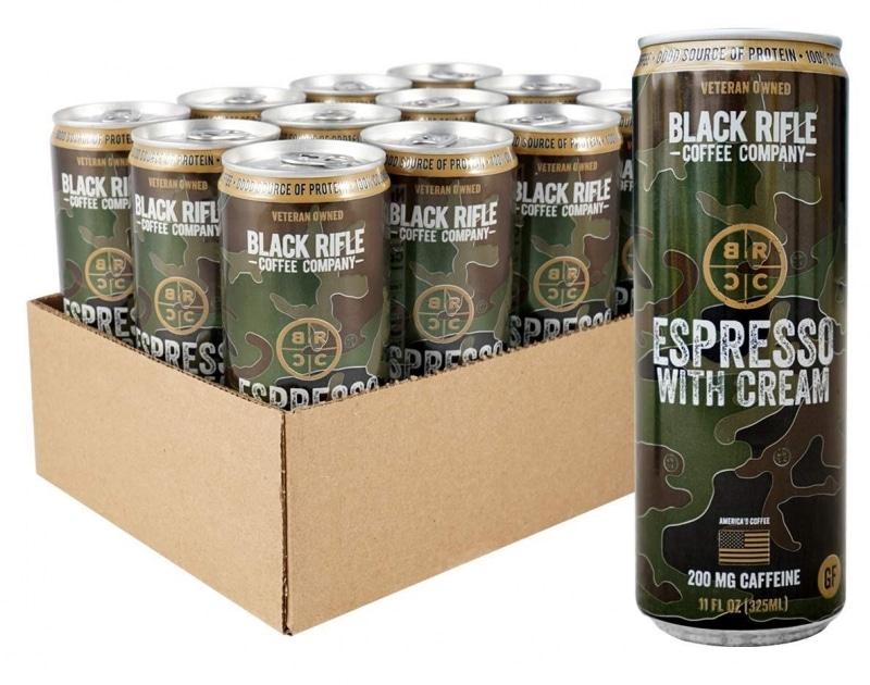 7. Black Rifle Coffee RTD Espresso With Cream