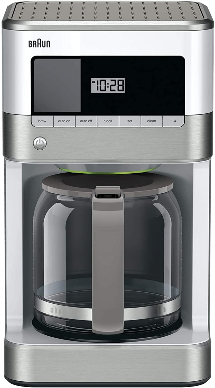 7. Braun KF6050WH Best Coffee Makers BrewSense