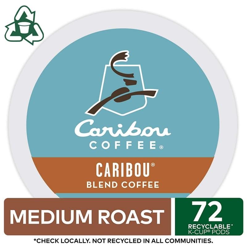 7. Caribou Coffee Blend Keurig K-Cup Pods