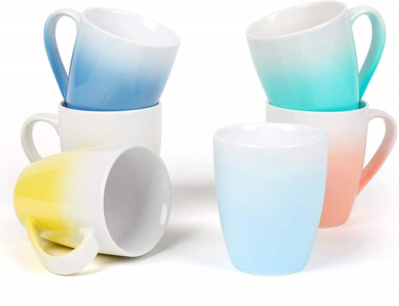 7. Dishwasher Safe Kitchendise Coffee Mugs