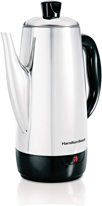 7. Hamilton Beach 40616 Electric Percolator Coffee Maker