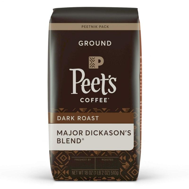 7.  Peet's Coffee Major Dickason's Blend