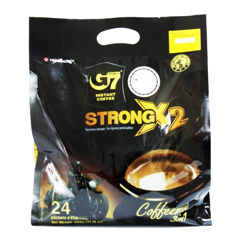 7. Trung Nguyen G7 Strong X2 3 In 1 Instant Coffee