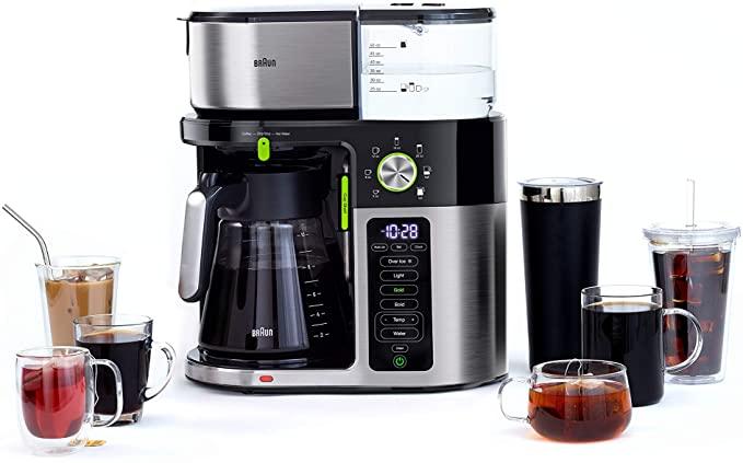 7. Braun Multiserve Coffee Machine