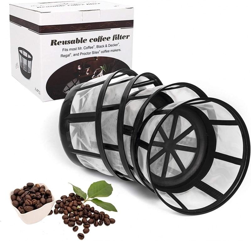 7. FIFOKICHO Reusable 8-12 cup basket coffee filter
