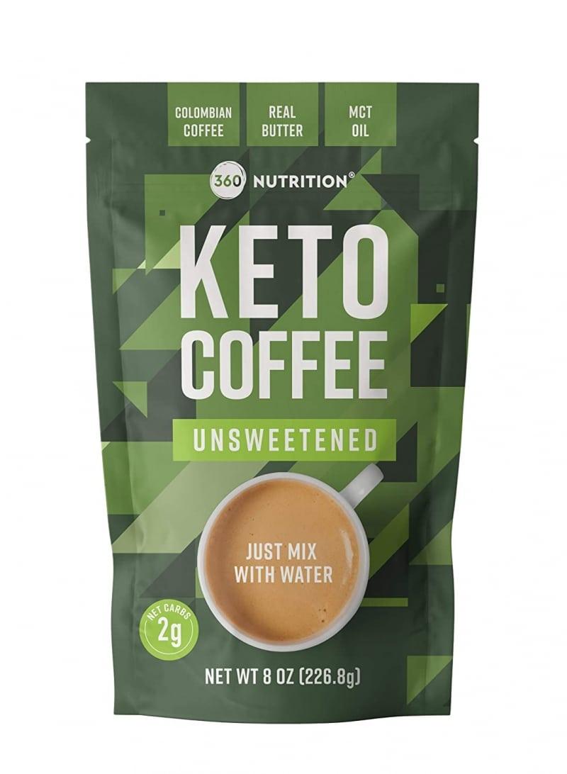 8. 360 Nutrition Instant Keto Coffee