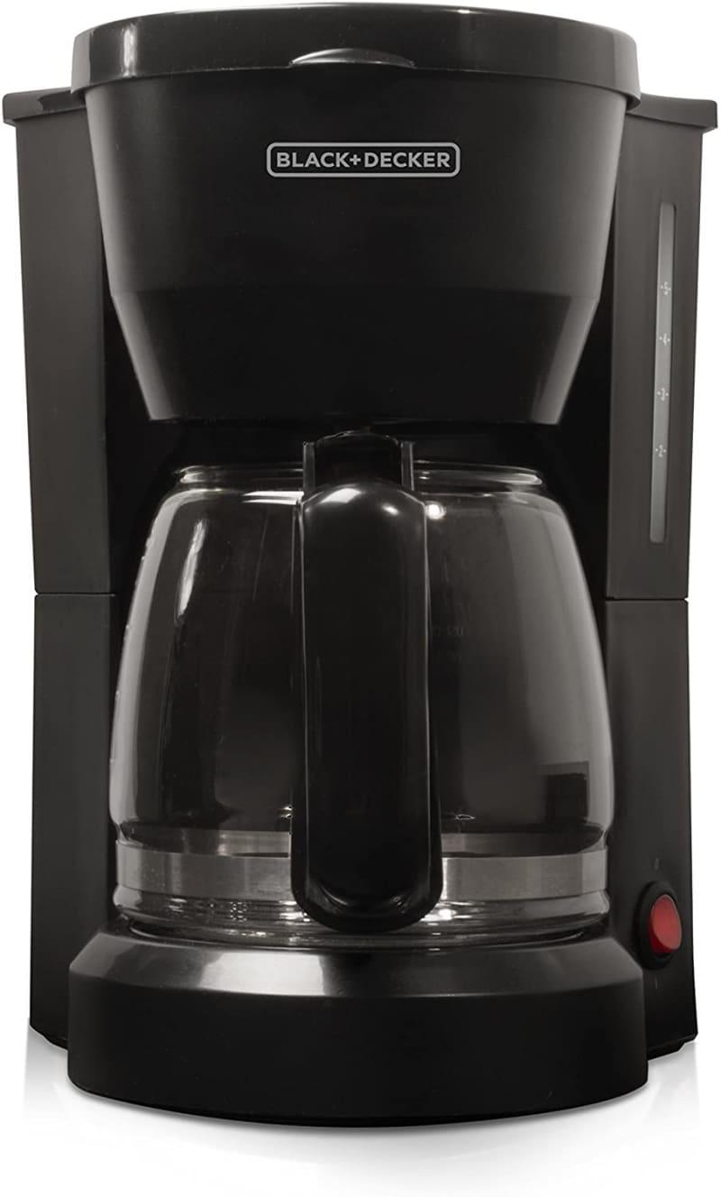 8. BLACK+DECKER 5-Cup Coffeemaker