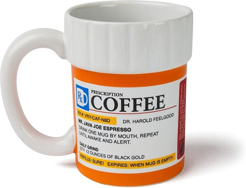 21. BigMouth Inc. The Prescription Coffee Mug