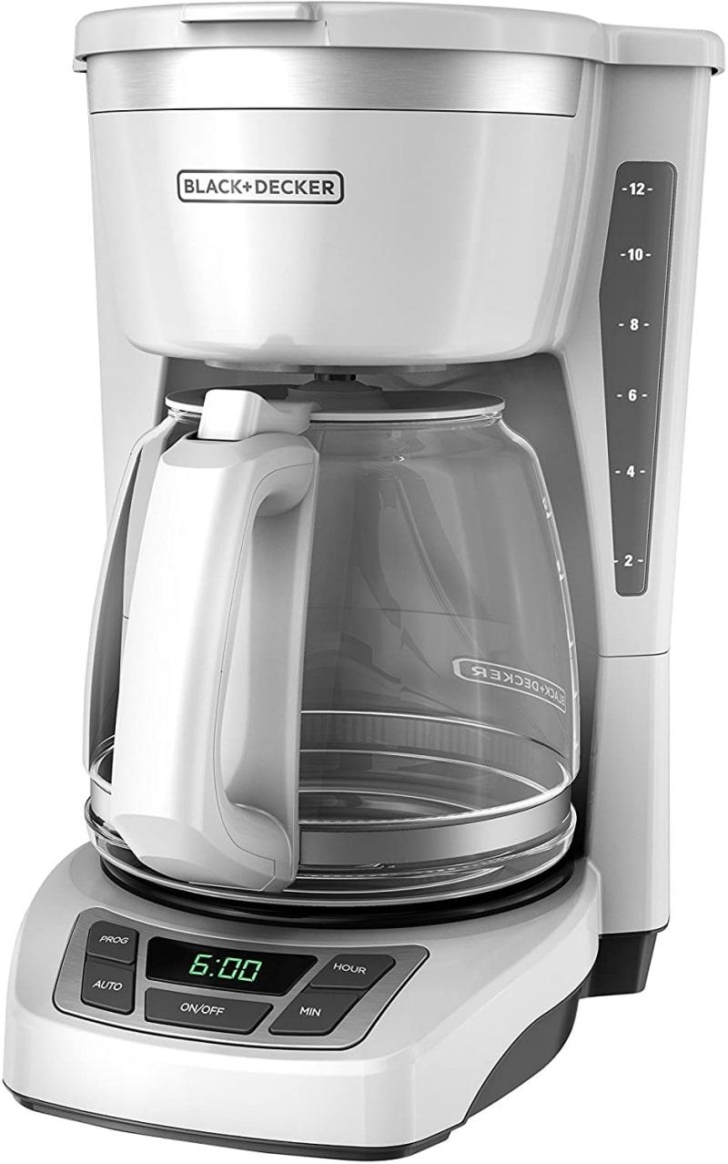 8. Black & Decker CM1160W 12-Cup Programmable Coffeemaker