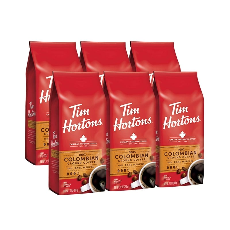 8. Tim Hortons Colombian Coffee