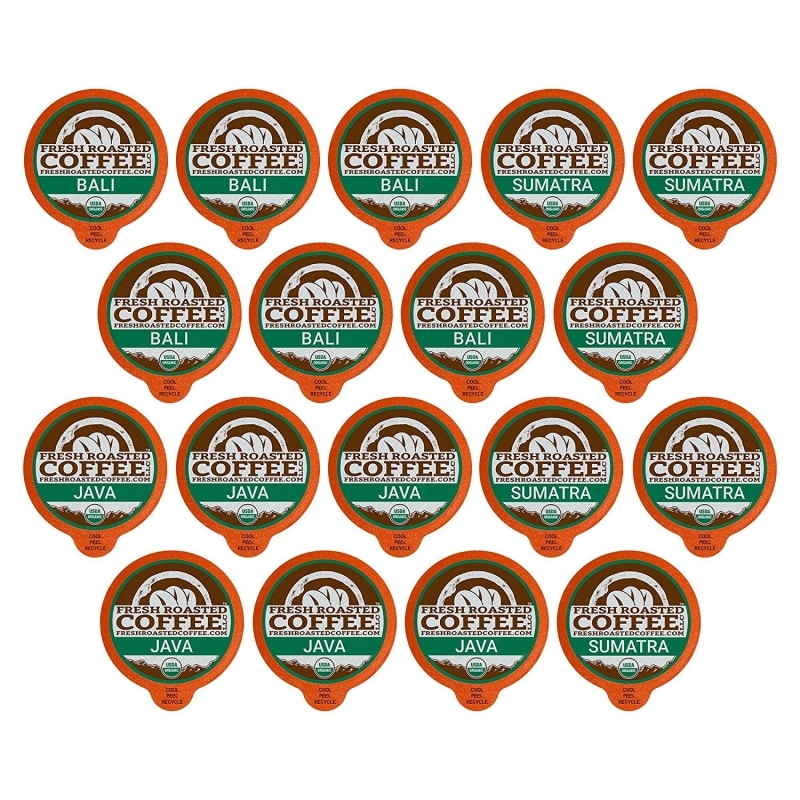 8. Fresh Roasted coffee, Organic Indonesian Sample, K-Cup compatible