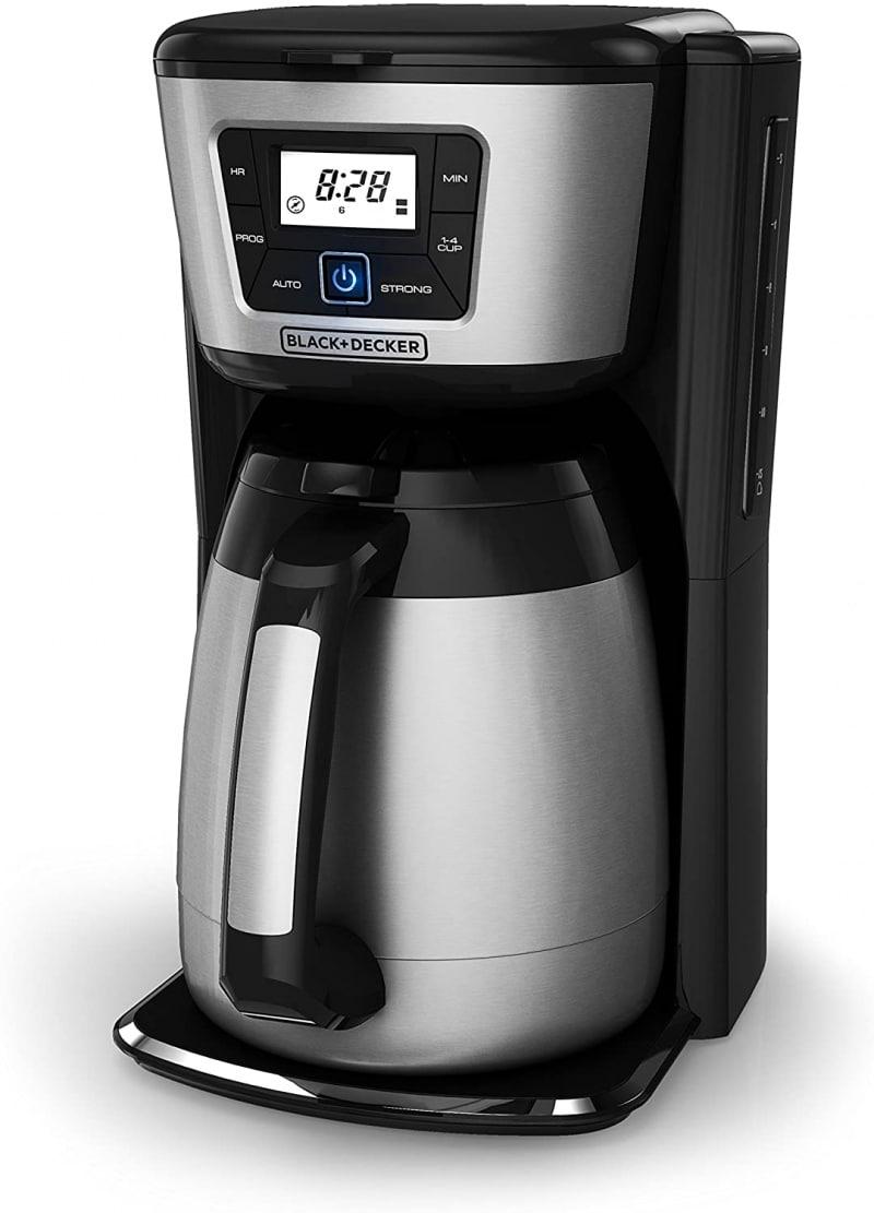 9. BLACK+DECKER 12-Cup Thermal Coffeemaker