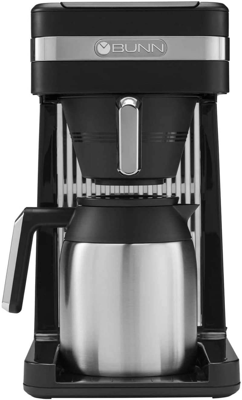 9.  BUNN 55200 CSB3T Speed Brew Platinum Thermal Coffee Maker Stainless Steel