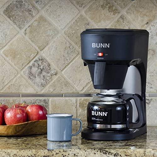 9.  BUNN Speed Brew 10 Cup Home Coffee Brewer