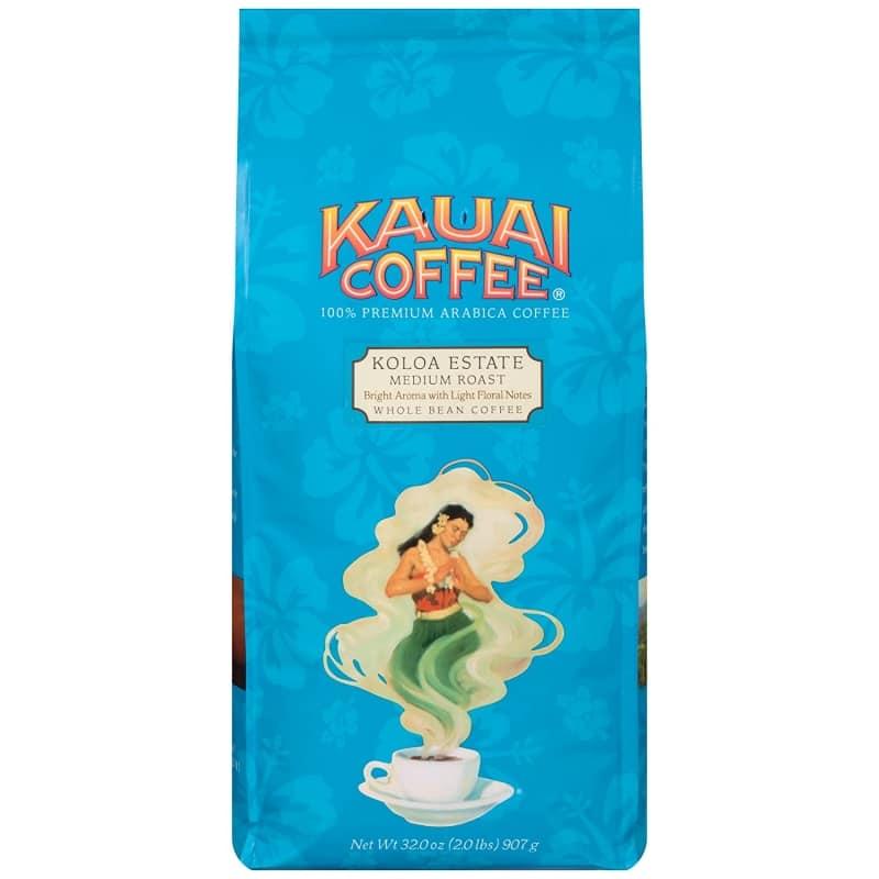 9.  Kauai Whole Bean Coffee
