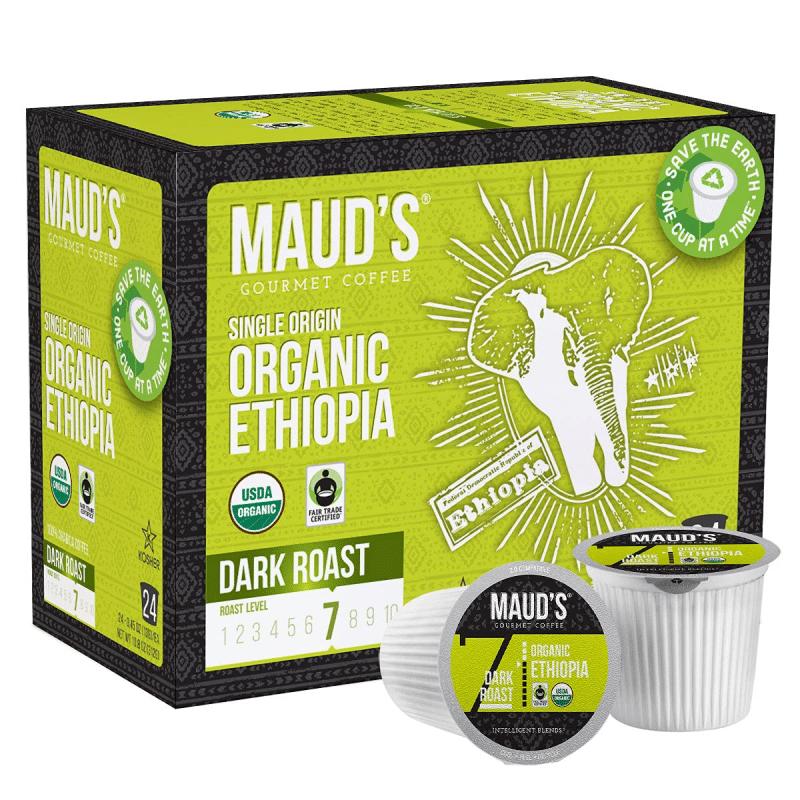 9. Maud's Organic Ethiopian Coffee